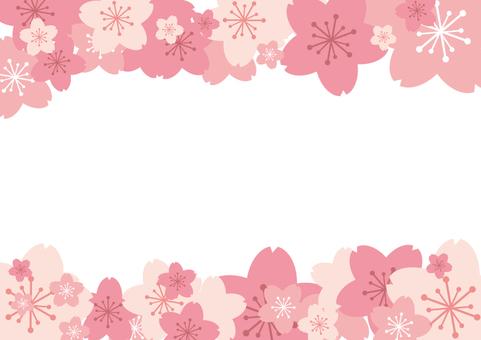 Spring material 057 Cherry frame