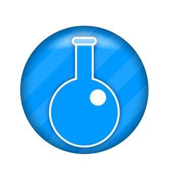 Round bottom flask symbol
