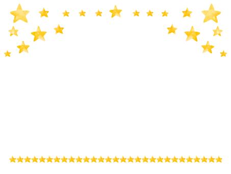 Many stars frame