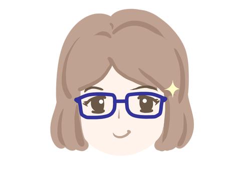 Female eyewear Kirarin