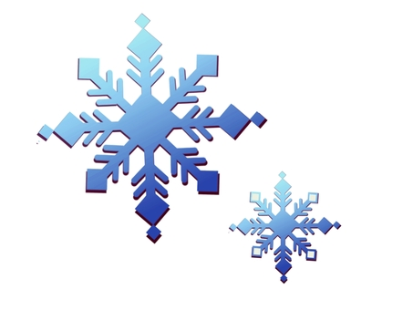 Snow crystal ⑦
