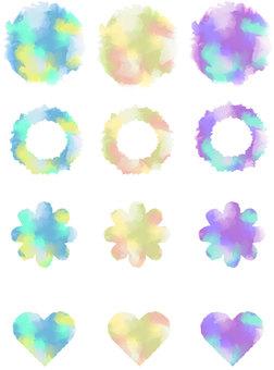 Watercolor-like material 2