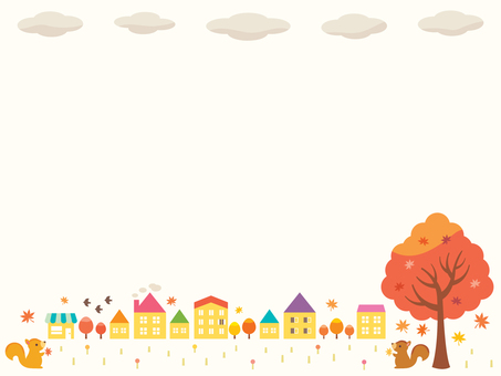 Autumn landscape illustration (5)