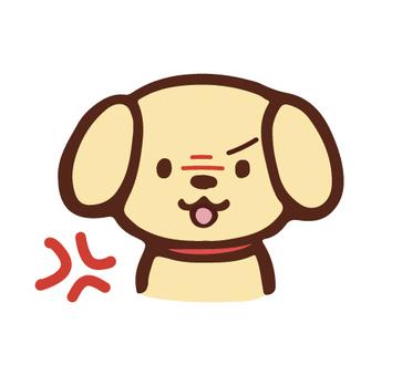 아이콘 · 개 · 분노