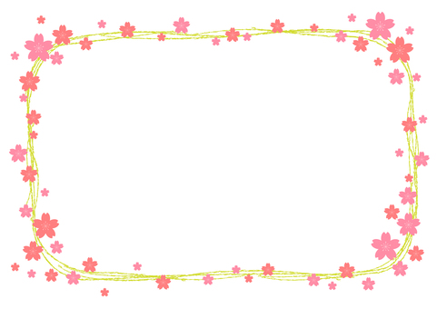 Cherry blossom material 309