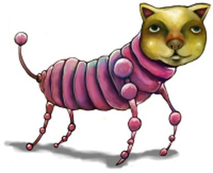 A cat of a cat