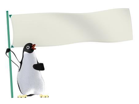 Penguin _ Cheering _ 001