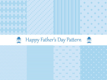 Father's Day background material set