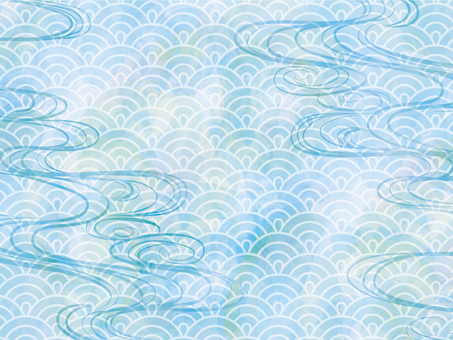 Background japanese pattern pattern watercolor texture japanese style wallpaper wave