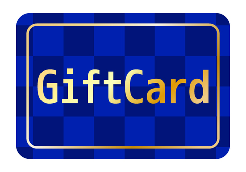 1 gift card (blue)