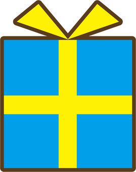 Present (blue)