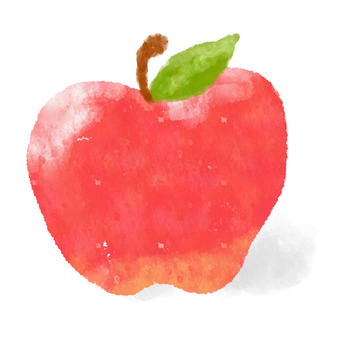 Apples watercolor painting