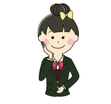Girls high school upper body 2-2