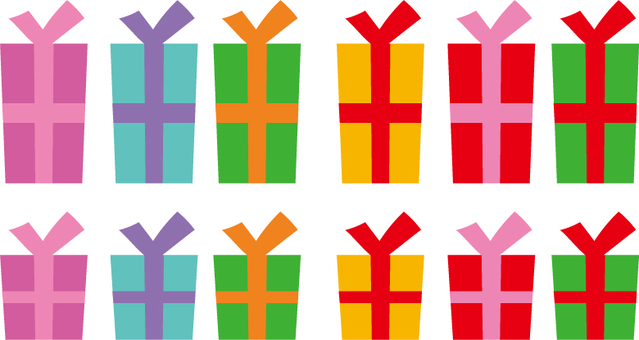 Various present boxes
