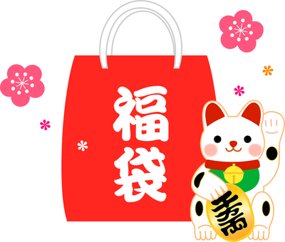 Lucky bag illustration