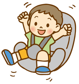 Child of child seat