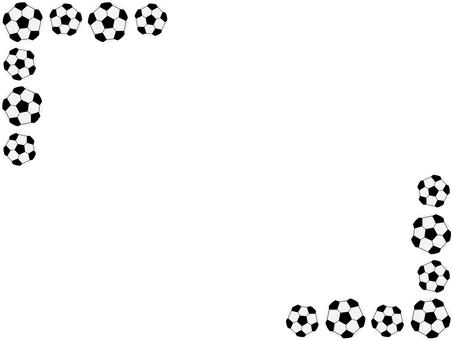 축구 공의 프레임 2