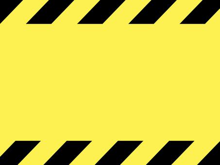 危険 注意 警告 フレーム