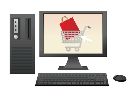 Shopping with a computer