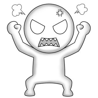 Stick man (anger)