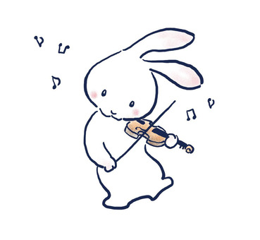 Violin rabbit 26