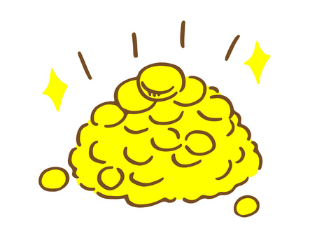 Mountain of coins 1