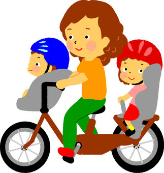Child's bicycle (3 seater)