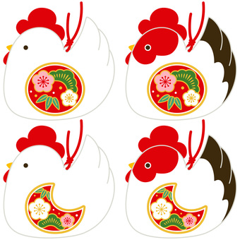 Rooster Figurine B