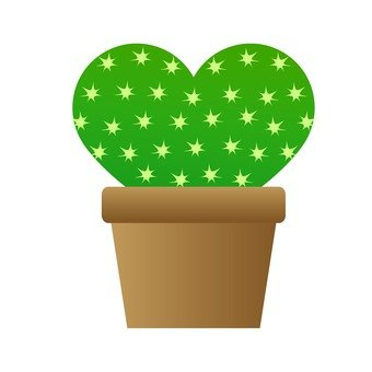 Houseplant - Pear cactus (Heart type)
