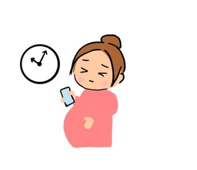 Pregnant woman · labor