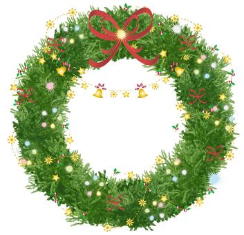 Christmas wreath (Friday)