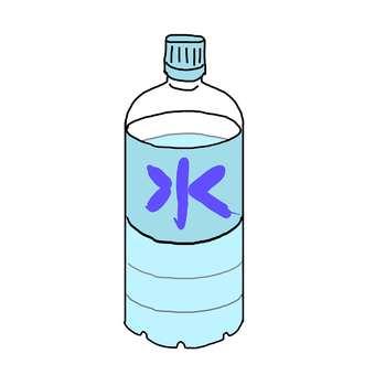 Water / plastic bottle