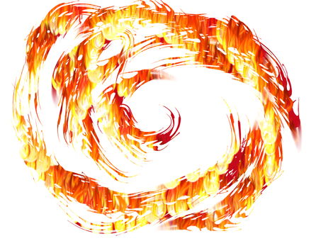 Vortex of fire