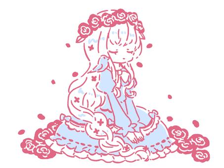 Princess (closed eyes)