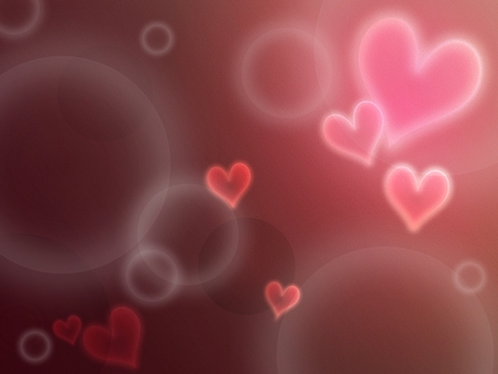 Background material * Fantastic gradient heart