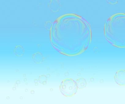 Soap bubble sky