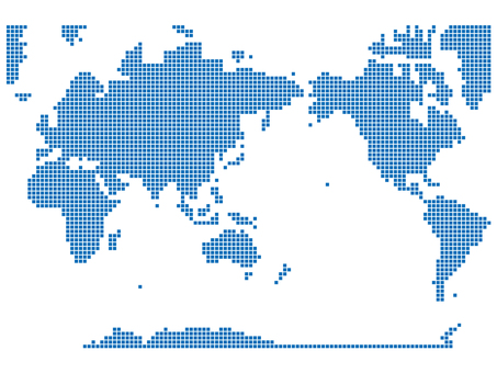 World Map Dot 03