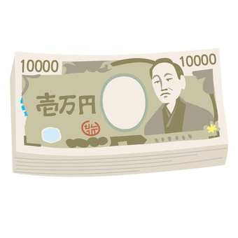 Wallet massive bill money gold 1 million