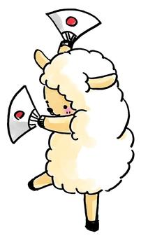 Cheering Sheep 1