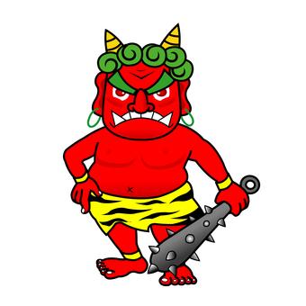 Demon (red)