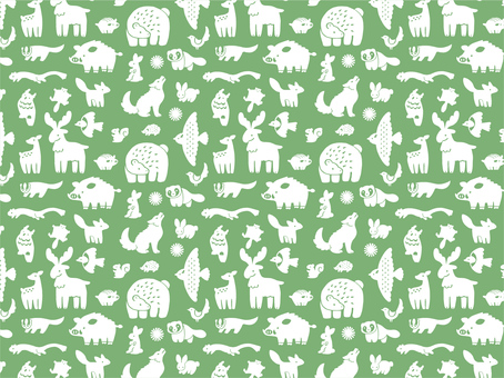 Animal Pattern - Forest