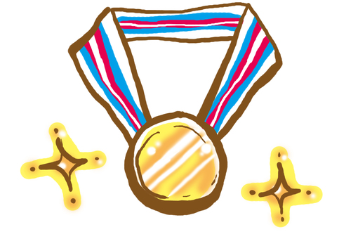 You are a gold medal ★