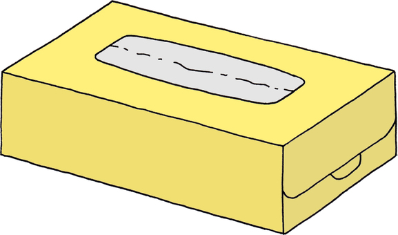Tissue yellow 2 (no character)