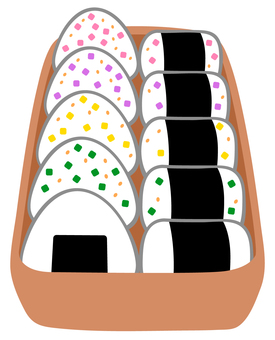 Lunch Box (Omusubi)