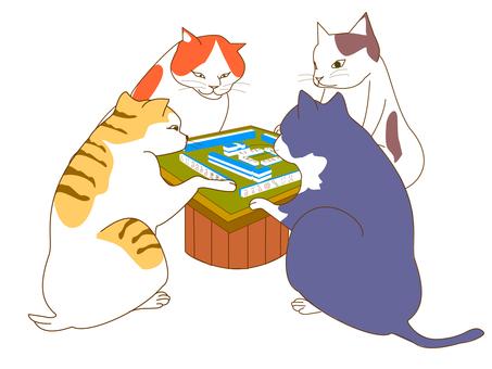 Mahjong cat