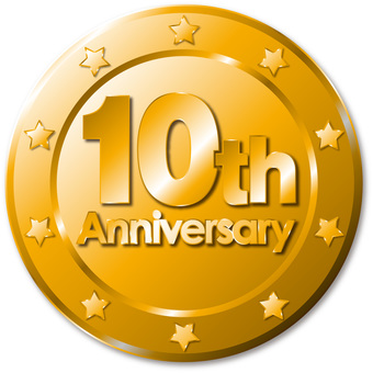 10th anniversary medal