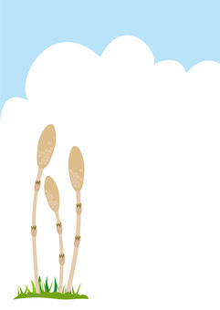 Hoshi and blue sky