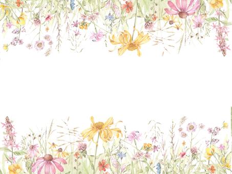 花枠380-春の野の花の花枠