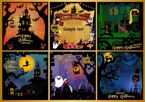 Design: Halloween illustration set 2