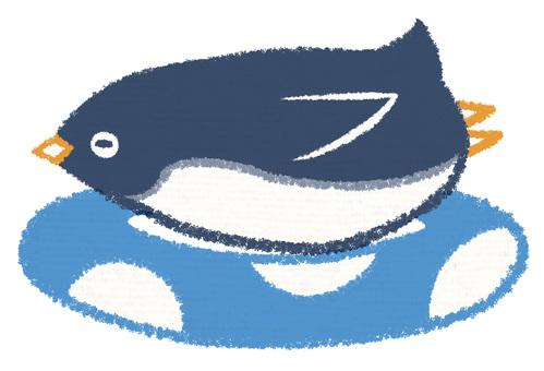 浮動輪企鵝